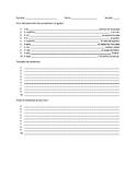 Gustar worksheet