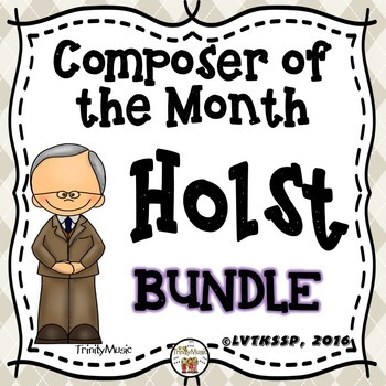 Gustav Holst (Composer of the Month) BUNDLE