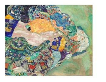 Gustav Klimt Crazy Textures Watercolor Quilt Project