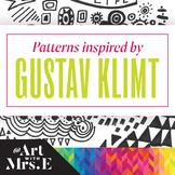 Gustav Klimt Inspired Patterns   Drawing Aid
