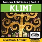 Gustav Klimt Project-Based Art Unit for Famous Artist Seri