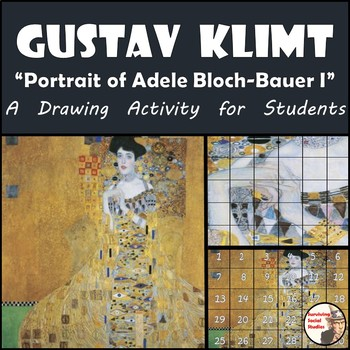 """Gustav Klimt - Recreate """"Portrait of Adele Bloch-Bauer I"""" - Woman in Gold"""