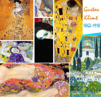 Gustav Klimt - Symbolism Art History Art Nouveau Vienna - FREE POSTER