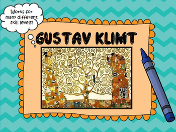 5th Grade-Gustav Klimt Tree of Life Art Project