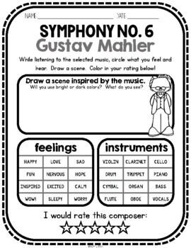 Mahler, Classical Composer, July, Summer, Handwriting, Music, Bohemia, Piano