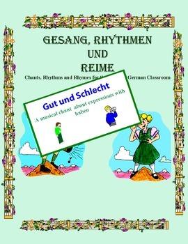 """German Musical Chant About Expressions With """"Haben"""" - Gut und Schlecht"""