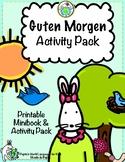Guten Morgen Greetings Minibook and Activity Pack in German
