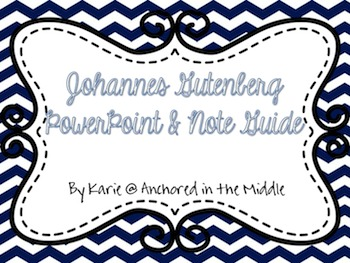 Gutenberg PowerPoint & Guide