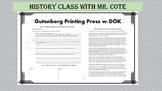 Gutenberg Printing Press DOK