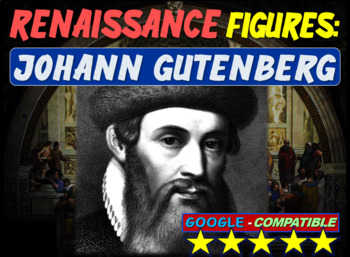 Gutenberg & the Printing Press!  Visual, textual, engaging 12-slide PowerPoint