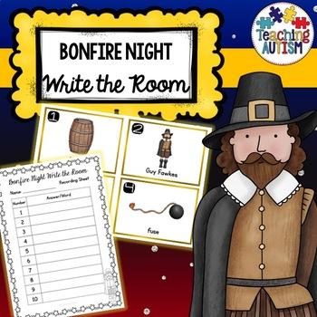 Guy Fawkes, Bonfire Night Write the Room