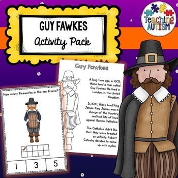 Guy Fawkes Activity Bundle