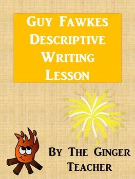Guy Fawkes Bon Fire Night Literacy English Lesson – Descri