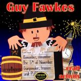 Guy Fawkes Bonfire Night Craft Activity