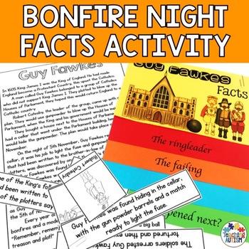 Guy Fawkes, Bonfire Night, Fact Flip Book