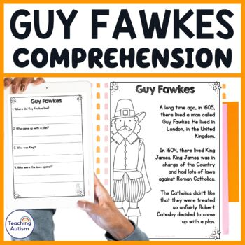 Guy Fawkes Comprehension
