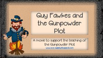 Guy Fawkes and the Gunpowder Plot Animated Slideshow