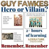 Guy Fawkes and the Gunpowder Plot Activities