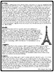 Guy de Maupassant Biography- Reading Comprehension Worksheet; The Necklace