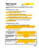Guy de Maupassant ~ Two Friends Content Specific Worksheet