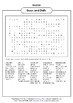 Guys and Dolls Word Search