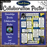Gwendolyn Brooks Poetry Collaboration Group or Individual Poster