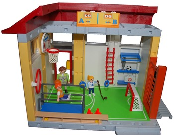 Gym Class - Playset Visuals [speech therapy and autism]