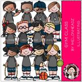 Gym Class clip art- by Melonheadz