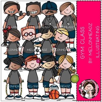Melonheadz: Gym Class clip art
