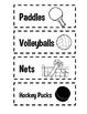 Gym Equipment Storage {Labels}