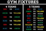 Gym Fixtures Poster