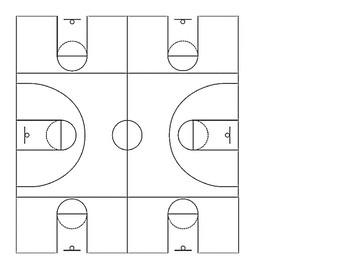 Gym Layout for Basketball Coach or Physical Education Teacher