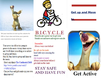 Gym Pamphlet (Getting Students Active)