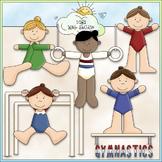 Gymnastics 1 - Commercial Use Clip Art & Black & White Images