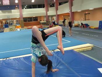 Gymnastics Angles