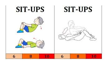 Gymnastics Balances Resource - Warm up and Medal/Points Challenge