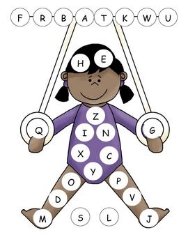 Gymnastics Capital Alphabet Mat