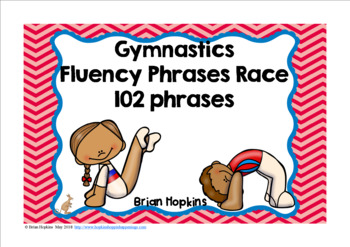 Gymnastics Fluency Phrases Race