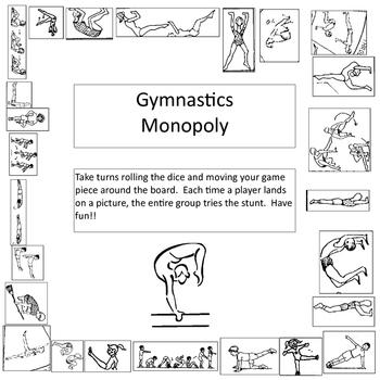 Gymnastics Monopoly