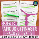 Gymnastics Paired Texts: Gabby Douglas and Shawn Johnson (