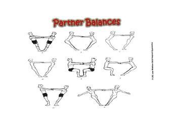 Gymnastics Partner Balances for all years