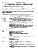 Gymnastics Routine Assignment