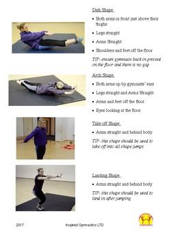 Gymnastics Shapes