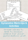 Gymnastics WarmUps & Activities