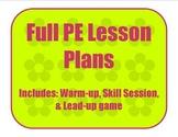 Gymnastics and Tumbling Full Lesson Plan 1