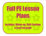 Gymnastics and Tumbling Full Lesson Plan Obstacle Course pre-k - 1