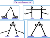 Gymnastics balances and shape