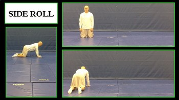 Gymnastics / Tumbling in PE - Rolls and Dynamic Movements