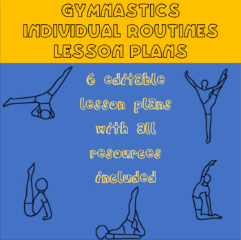 Gymnastics lesson plans for individual routines