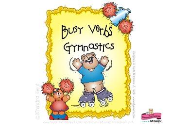Gymnatics Verbs Mini-Book